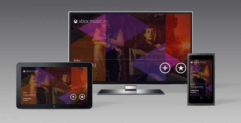 Xbox Music free streaming gets the ax December 1