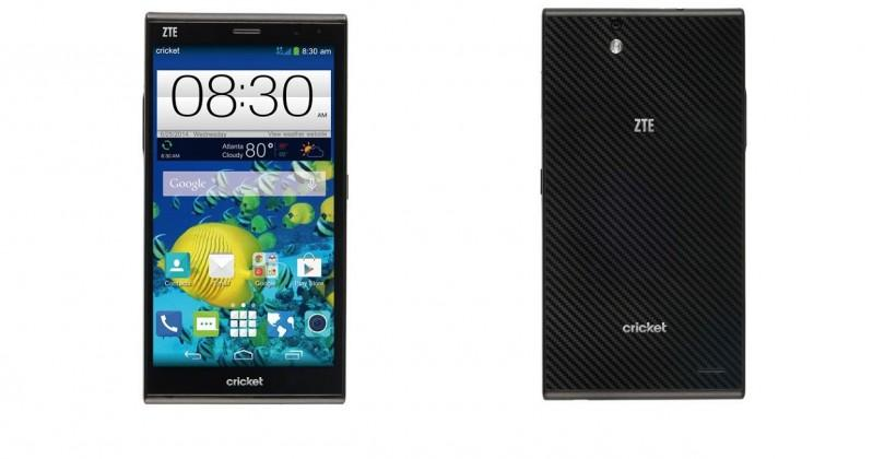 ZTE Grand X Max phablet slated for Cricket