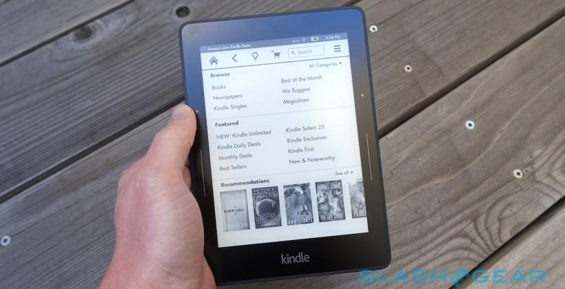 Kindle Voyage starts shipping (but prepare for a wait)