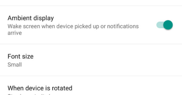 """Android Lollipop seen with Moto X """"Active Display"""" feature"""