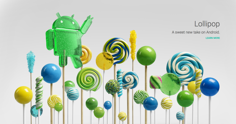 Android 5.0 Lollipop: when and where to get your sugar fix