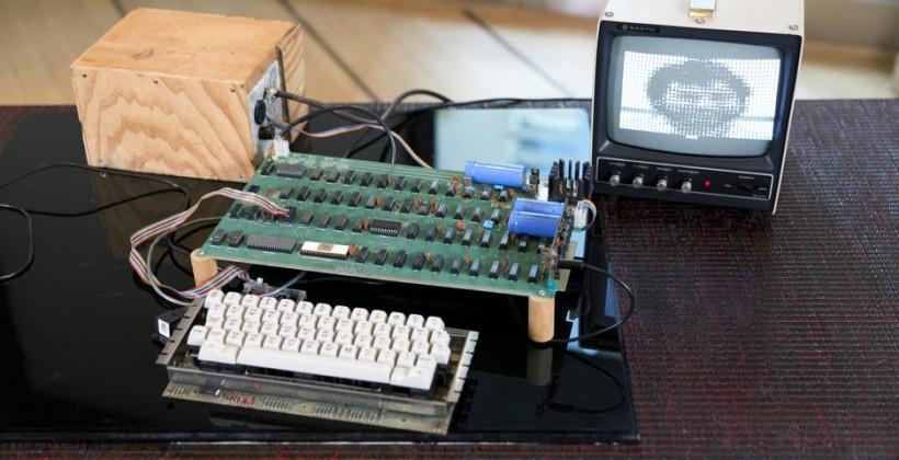 Apple-1 sets $950k auction record for Jobs' & Woz's handiwork