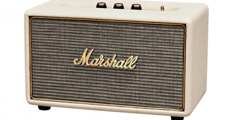 Marshall Acton amps up your smartphone with Hi-fi sound