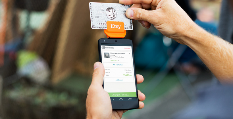 Etsy Credit Card Reader released for your smartphone this Autumn