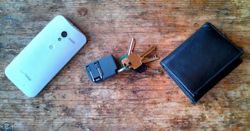 Chargerito is a mobile charger that fits in your key chain