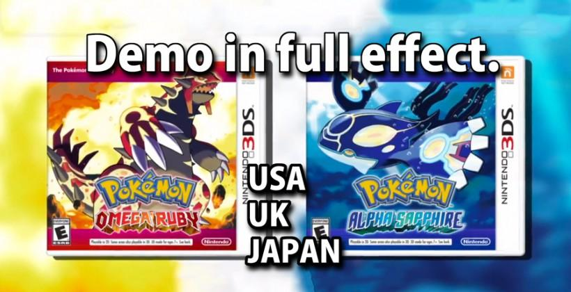 Pokemon Omega Ruby Alpha Sapphire demo detailed for USA