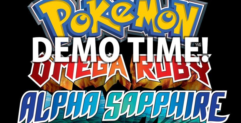 Pokemon Omega Ruby Alpha Sapphire Demo release this week