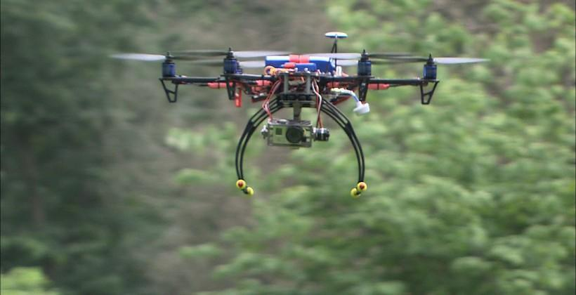 Drone nearly hits plane, may have been on purpose