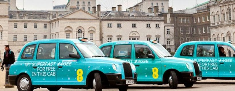 EE turns on LTE-A service in central London