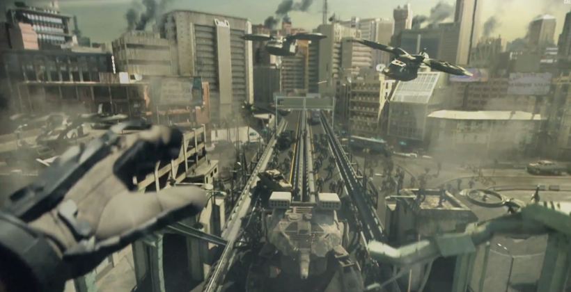 Call of Duty Advanced Warfare live action trailer: movie time