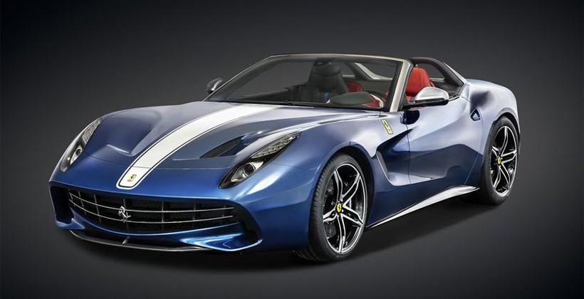 Ferrari F60America offers drop top styling and V12 power