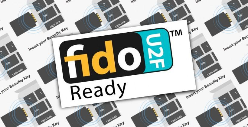 Google teams with FIDO's U2F USB Security Key