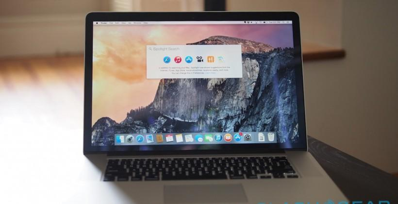 OS X Yosemite Review: Blurred Lines