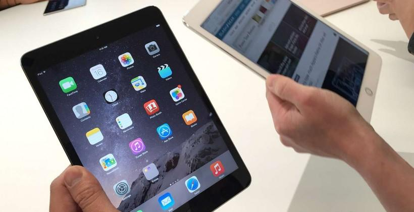 iPad Air 2 vs iPad mini 3 hands-on: an iPad at any cost