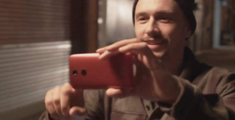DROID Turbo shown off by James Franco in bizarre ad
