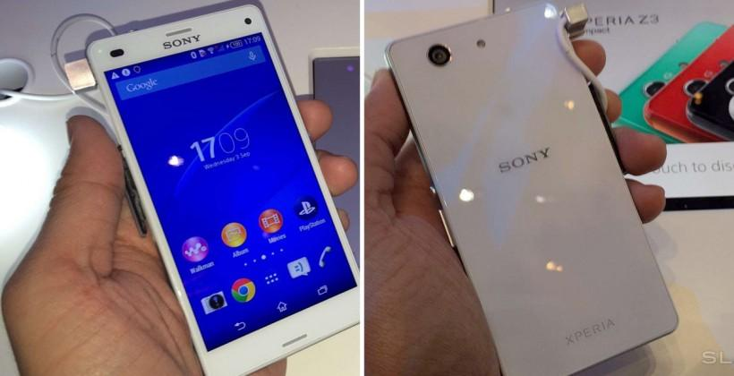 Sony Xperia Z3 Compact released in USA without carriers