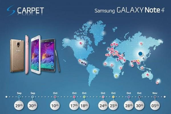 galaxy-note-4-launch-map