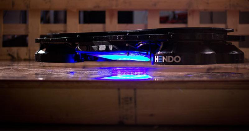 Hendo Hoverboard tries to make a childhood dream come true