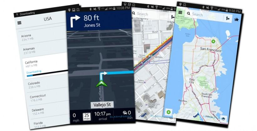 HERE maps now on Android to take on Google