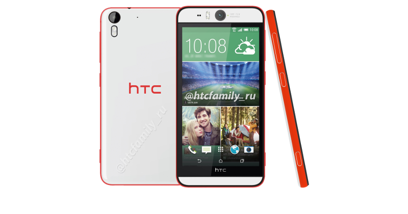 HTC Desire Eye leaked to have 13MP front camera