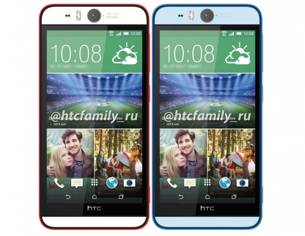 HTC Desire Eye leaked to have 13MP front camera - SlashGear
