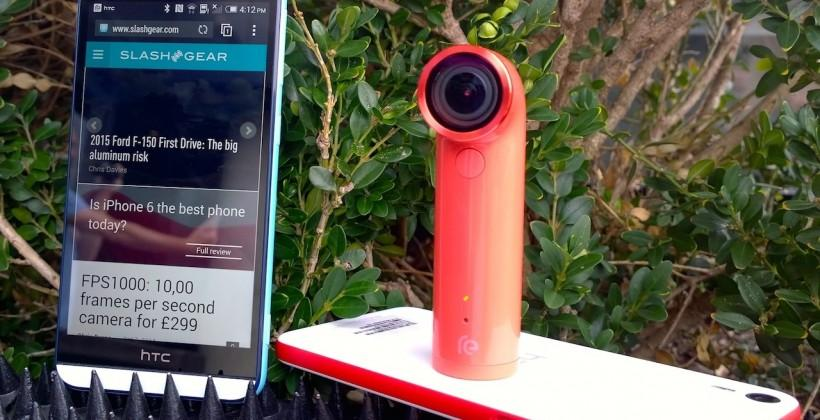 "HTC Desire EYE hands-on: The 13MP ""Selfie phone"""
