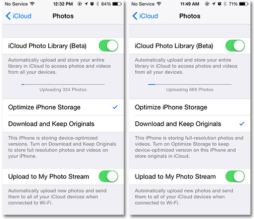 iCloud Photos web client opens just before iOS 8.1 launch