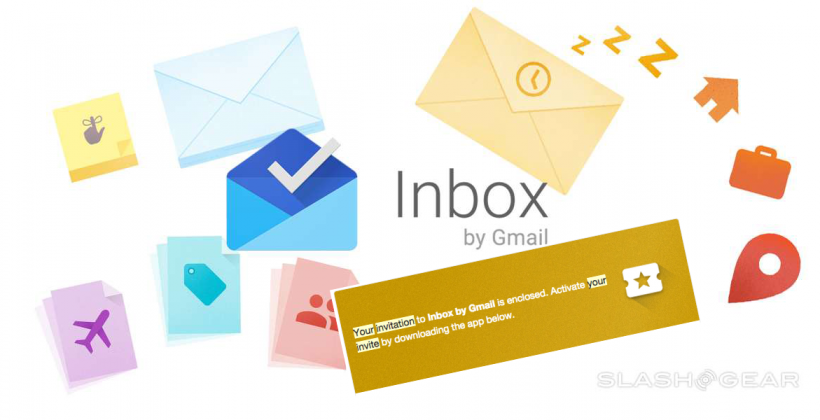 Inbox by Gmail invites sent out this morning [UPDATE]