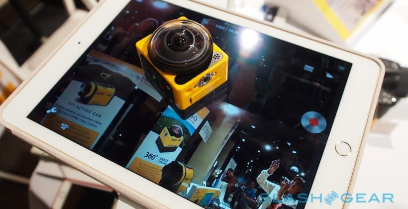 Kodak cooks up 360-degree GoPro-style Action Cam