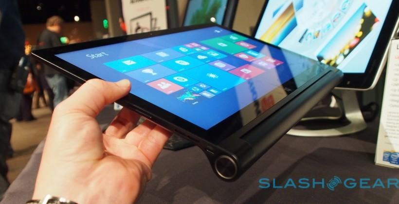 Lenovo Yoga Tablet 2 with Windows 13″ model expands lineup
