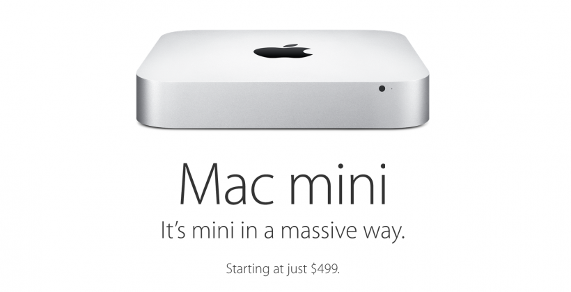 Mac mini 2014 released at $599
