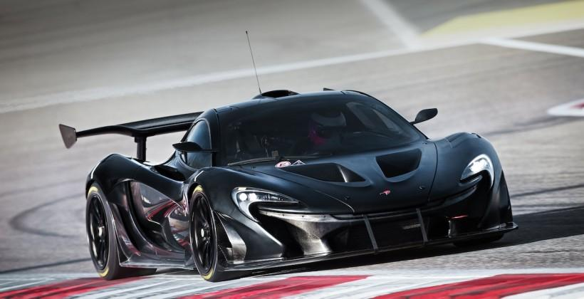 This is probably as close to inside the McLaren P1 GTR as you'll get