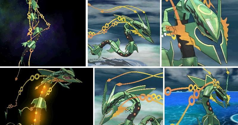 Mega Rayquaza detailed for Pokemon Omega Ruby Alpha Sapphire