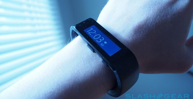 Microsoft Band hands-on – Admirably Flexible Fitness