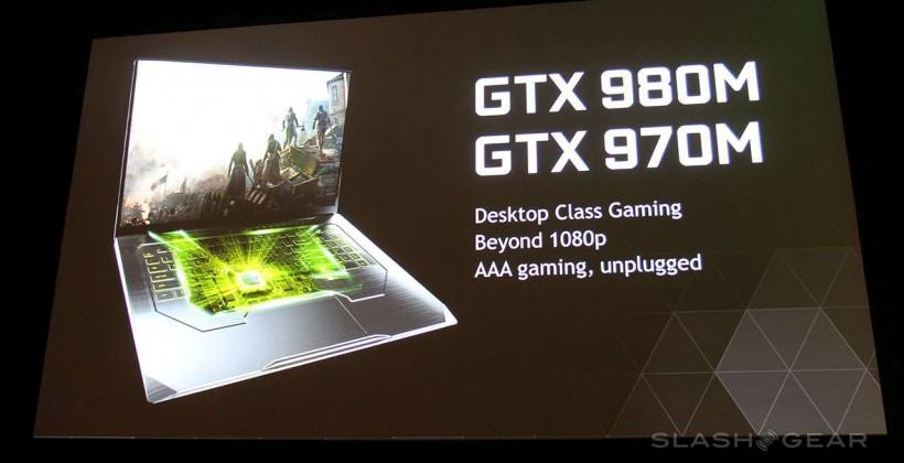 NVIDIA GTX 980M/970M unplug the gaming notebook