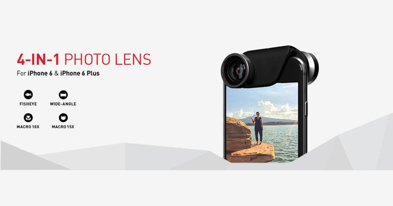 Olloclip announced 4-in-1 Photo Lens for iPhone 6, 6 Plus