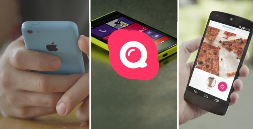 Skype Qik aims to cut down Snapchat, Instagram