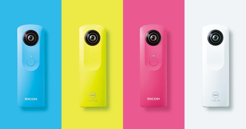 Ricoh Theta m15 360-degree camera coming November 14