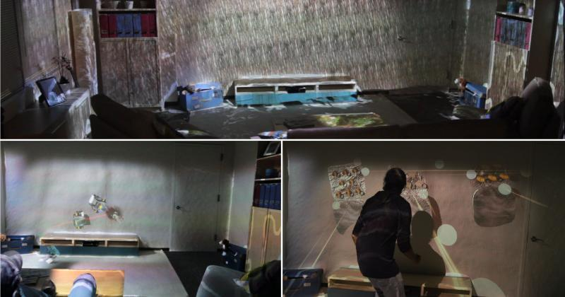 RoomAlive augments IllumiRoom: totally interactive rooms