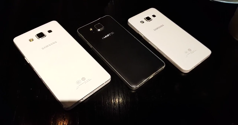 Samsung Galaxy A5, A3 appear again in leaked video