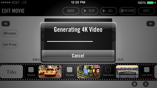 The Vizzywig 4K video app is back, ready for iOS 8.1