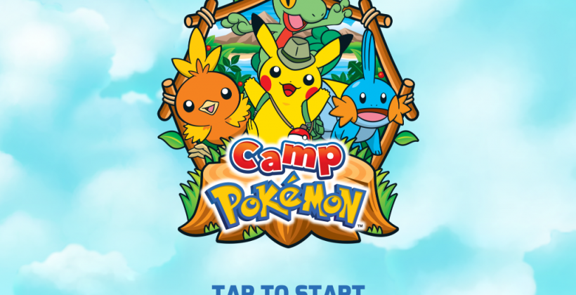 Camp Pokemon app goes mobile for iPhone and iPad