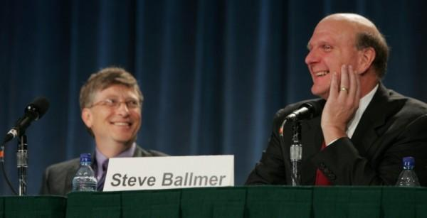 Ballmer, Gates no longer pals; blame Nokia, Vista