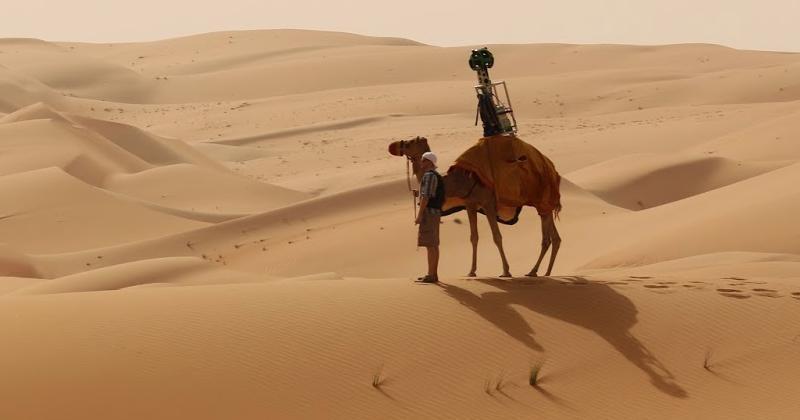 Google rode a camel to bring Liwa Desert to Street View