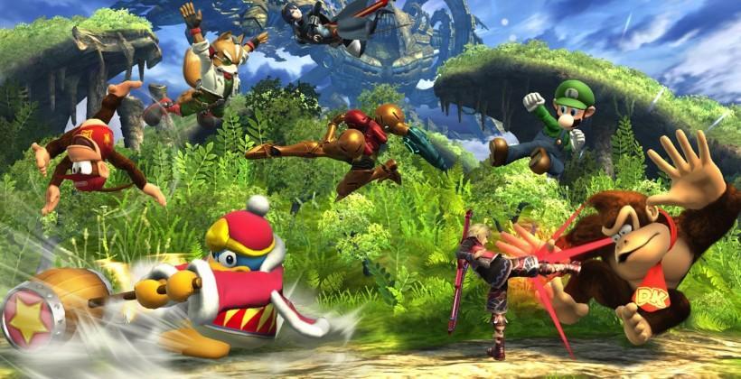 Super Smash Bros. for Wii U: 8-player Smash, Mewtwo & Ridley