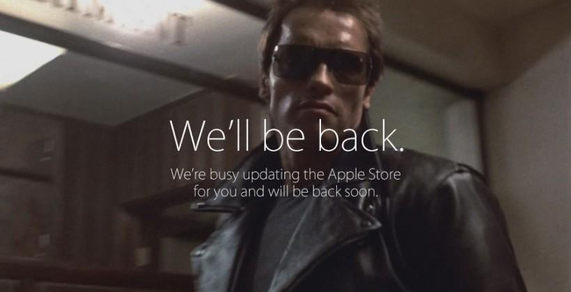 Apple Store down: new products incoming