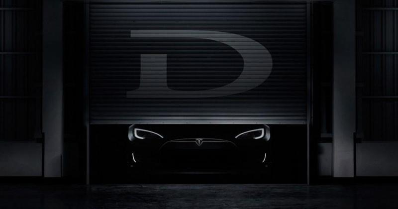 Elon Musk teases mysterious Tesla D for October 9