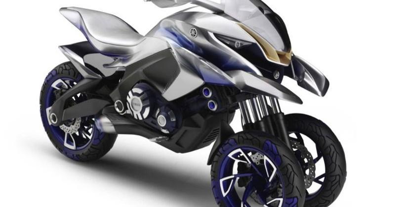 Yamaha 01Gen dual sport 3-wheeler debuts