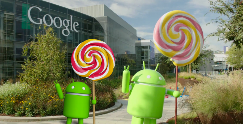 Android Lollipop statue revealed at mini Google gathering