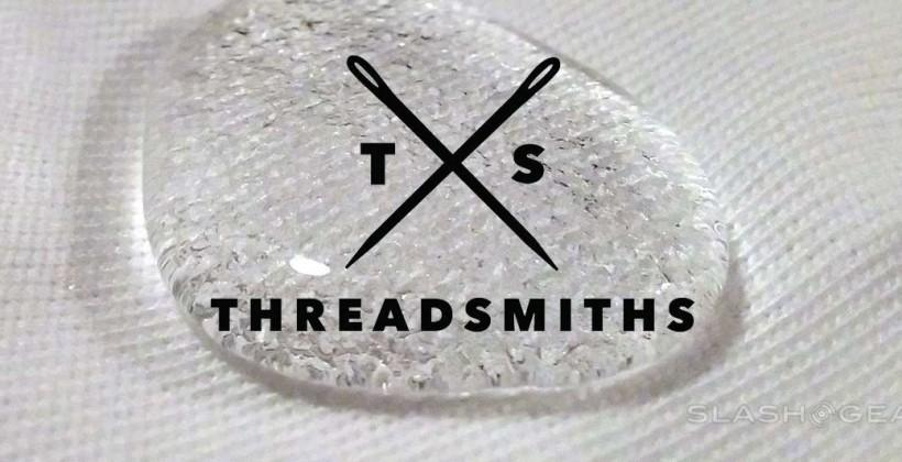 Hydrophobic shirt confirmed: hands-on with Threadsmiths first tee